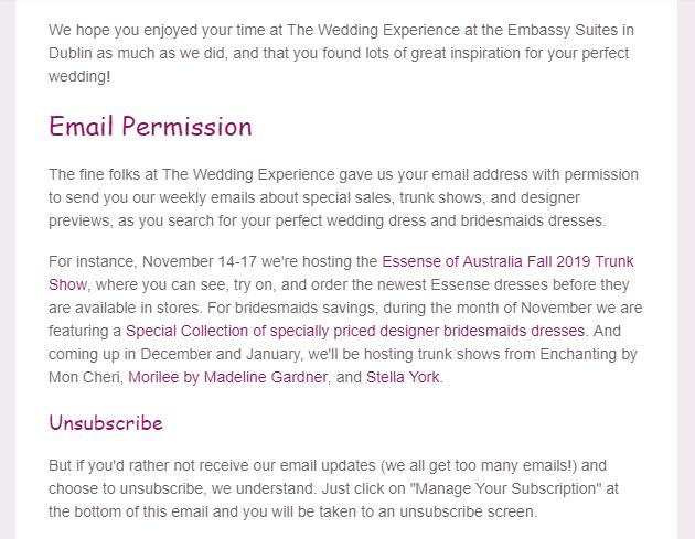 wendys bridal